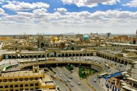 نمای شهر مشهد