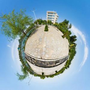 نمای سیاره کوچک - بوستان وکیل آباد