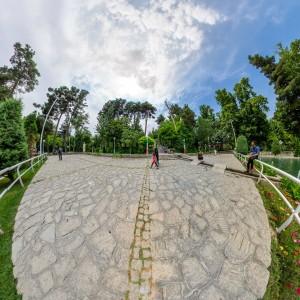 نمای استریو گرافیک - بوستان وکیل آباد