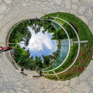 نمای خاص - بوستان وکیل آباد
