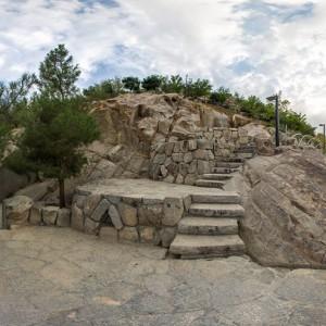 یک نما از روی کوه - پارک کوهسنگی