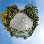 نمای سیاره کوچک - پارک کوهسنگی مشهد