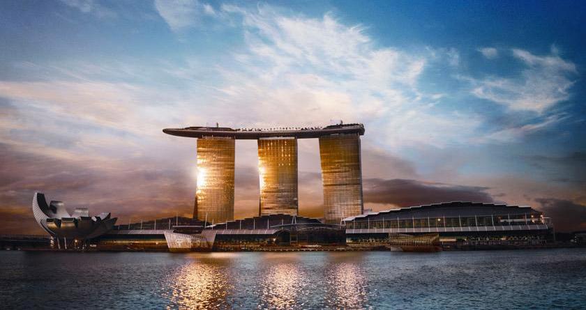 تفرجگاه خلیج ماسهای ماریان سنگاپور