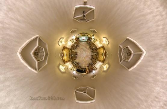 تالار داریوش - نمای سیاره کوچک تالار بانوان