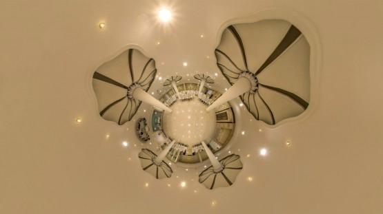 قصر هدیش - نمای سیاره کوچک تالار بانوان