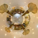 قصر هدیش - نمای سیاره کوچک تالار آقایان