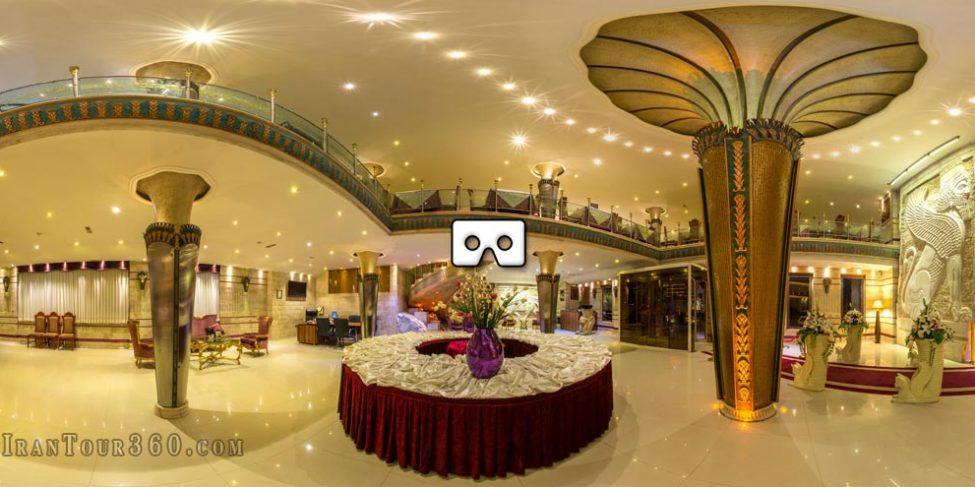 تور مجازی قصر هدیش با حالت VR